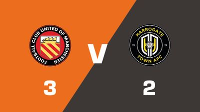Highlights: FC United Of Manchester vs Harrogate Town