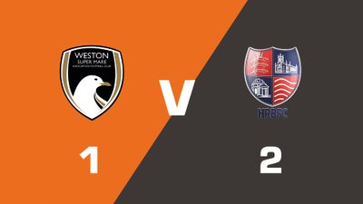Highlights: Weston-Super-Mare vs Hampton & Richmond Borough