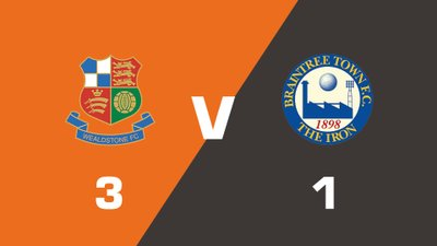 Highlights: Wealdstone vs Braintree Town