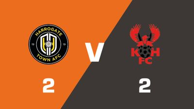 Highlights: Harrogate Town vs Kidderminster Harriers