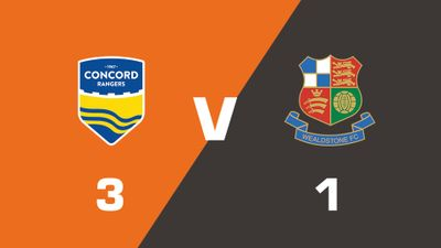 Highlights: Concord Rangers vs Wealdstone