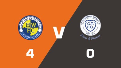 Highlights: Havant & Waterlooville vs Chippenham Town