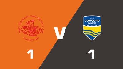 Highlights: Hemel Hempstead Town vs Concord Rangers