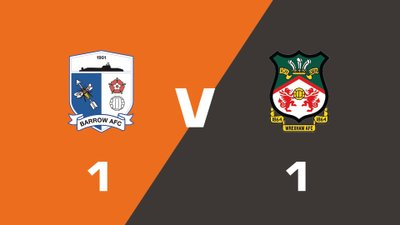 Highlights: Barrow vs Wrexham
