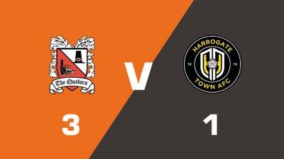Highlights: Darlington vs Harrogate Town