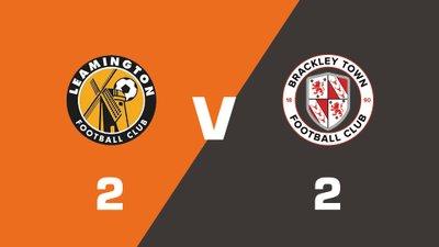 Highlights: Leamington vs Brackley Town