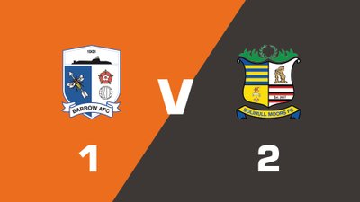 Highlights: Barrow vs Solihull Moors