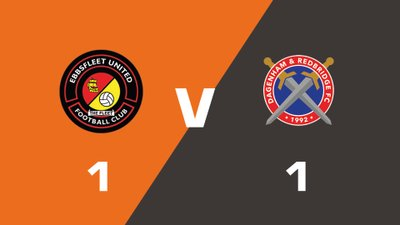 Highlights: Ebbsfleet United vs Dagenham and Redbridge