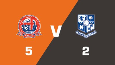 Highlights: AFC Fylde vs Tranmere Rovers