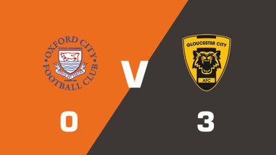 Highlights: Oxford City vs Gloucester City