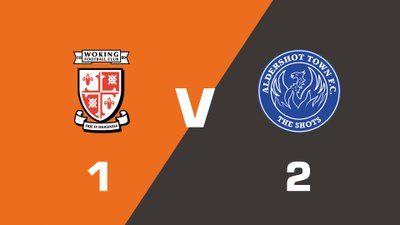 Highlights: Woking vs Aldershot Town