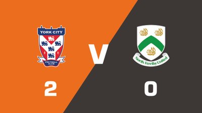 Highlights: York City vs North Ferriby United