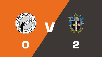 Highlights: Gateshead vs Sutton United