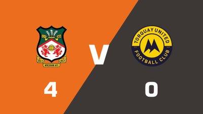 Highlights: Wrexham vs Torquay United