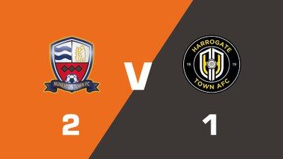 Highlights: Nuneaton Town vs Harrogate Town