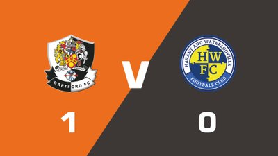 Highlights: Dartford vs Havant & Waterlooville