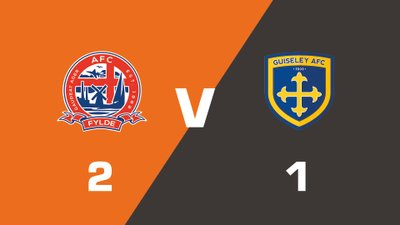 Highlights: AFC Fylde vs Guiseley