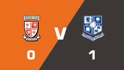 Highlights: Woking vs Tranmere Rovers