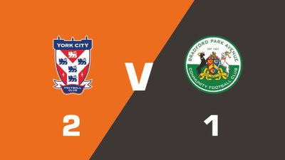 Highlights: York City vs Bradford Park Avenue