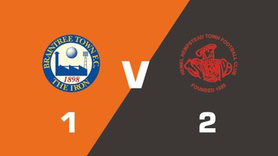Highlights: Braintree Town vs Hemel Hempstead Town