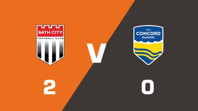 Highlights: Bath City vs Concord Rangers