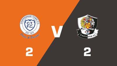 Highlights: Chippenham Town vs Dartford