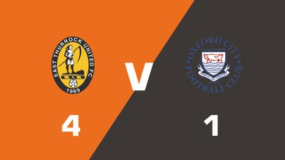 Highlights: East Thurrock United vs Oxford City