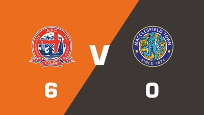 Highlights: AFC Fylde vs Macclesfield Town