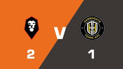 Highlights: Salford City vs Harrogate Town