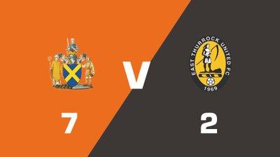 Highlights: St. Albans City vs East Thurrock United