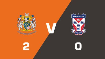 Highlights: Stockport County vs York City