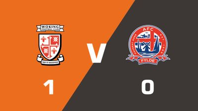Highlights: Woking vs AFC Fylde