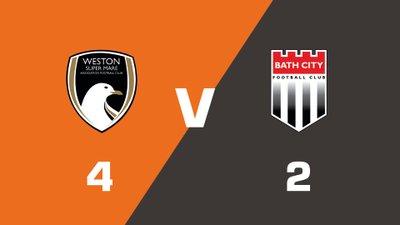 Highlights: Weston-Super-Mare vs Bath City