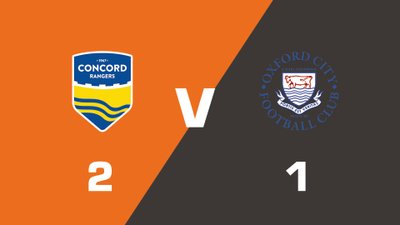 Highlights: Concord Rangers vs Oxford City