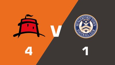 Highlights: Eastbourne Borough vs Hungerford Town FC