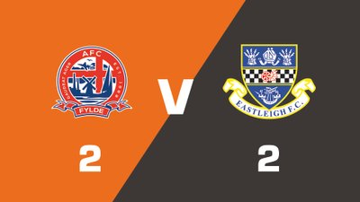Highlights: AFC Fylde vs Eastleigh