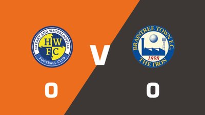 Highlights: Havant & Waterlooville vs Braintree Town