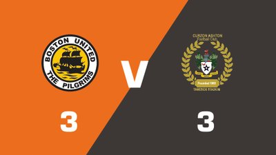 Highlights: Boston United vs Curzon Ashton