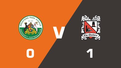 Highlights: Bradford Park Avenue vs Darlington