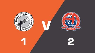Highlights: Gateshead vs AFC Fylde