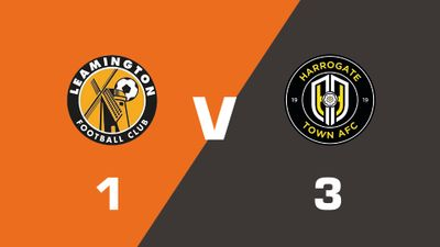 Highlights: Leamington vs Harrogate Town