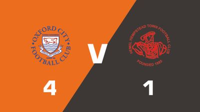 Highlights: Oxford City vs Hemel Hempstead Town