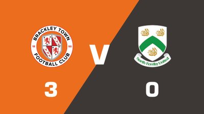 Highlights: Brackley Town vs North Ferriby United