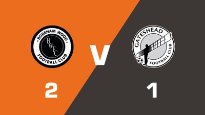 Highlights: Boreham Wood vs Gateshead