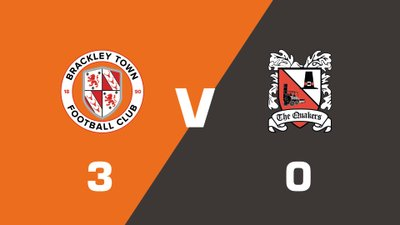 Highlights: Brackley Town vs Darlington