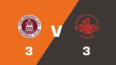 Highlights: Chelmsford City vs Hemel Hempstead Town