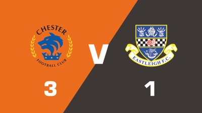 Highlights: Chester vs Eastleigh