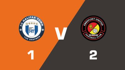 Highlights: FC Halifax Town vs Ebbsfleet United