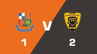 Highlights: Wealdstone vs Gloucester City