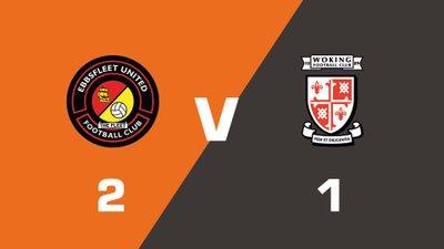Highlights: Ebbsfleet United vs Woking